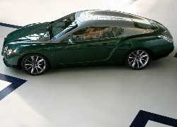 Zielony, Bentley GTZ Zagato, Coupe
