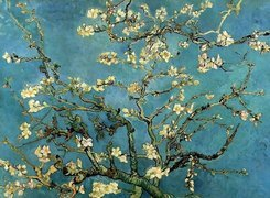 Vincent Van Gogh, Almond, Branches, In, Bloom