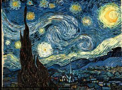 Vincent Van Gogh, The, Starry, Night