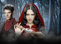 Przygody Merlina, The Adventures of Merlin, Merlin - Colin Morgan, Morgana - Katie McGrath, Sztylet