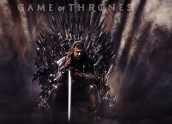 Gra o tron, Game of Thrones, Eddard Stark - Sean Bean, Pieśń Lodu i Ognia