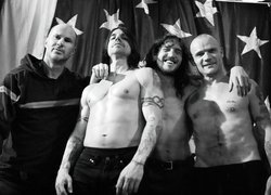 Chad Smith, Anthony Kiedis, John Frusciante