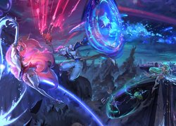 Ahri i Ezreal z gry League of Legends