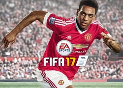 Anthony Martial z Manchesteru United w grze FIFA 17
