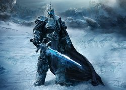 Gra, World of Warcraft Wrath of the Lich King, Postać, Arthas, Król Lisz, Miecz
