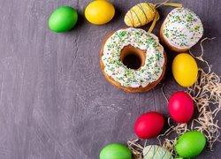 Wielkanoc, Pisanki, Ciasta, Baby, Lukier