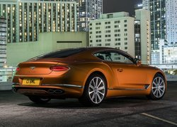 Bentley Continental GT V8, Coupe, Tył, Bok