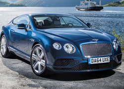 Bentley Continental przodem