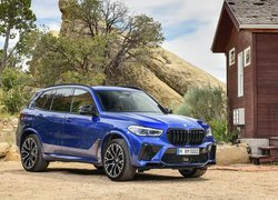 BMW X5 M Competition bokiem