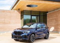 BMW X5 M Competition przodem