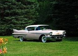 Zabytkowy, Cadillac Series 62 Coupe De Ville, 1958