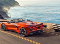 Chevrolet Corvette Stingray na drodze