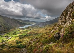 Dolina Nantlle Valley w Walii