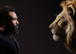 Donald Glover i lew