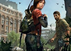 Ellie i Josh z gry The Last of Us