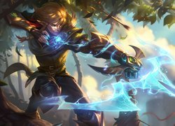 Ezreal z gry League of Legends