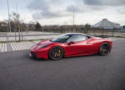 Ferrari 458 Italia Red Prior Design rocznik 2016
