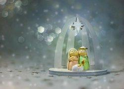 Dekoracja, Boże Narodzenie, Święta Rodzina