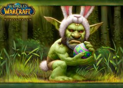 Goblin z World of Warcraft Noblegarden