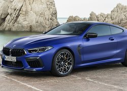 Granatowe, BMW M8 Competition, Coupe