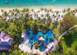 Hotel LUX Le Morne Resort z lotu ptaka