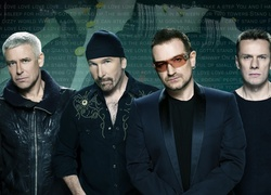 U2, Irlandzki, Zespół, Rock, Adam Clayton, The Edge, Bono, Larry Mullen