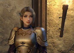 Joan of Arc z gry Bladestorm The Hundred Years