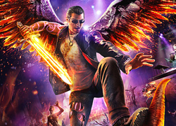 Johny Gat Render z gry Saints Row: Gat out of Hell