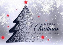 Kartka, Świąteczna, Boże Narodzenie, Życzenia, Grafika