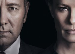 Kevin Spacey i Robin Wright w serialu House of Cards