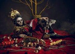 Kobieta, Halloween