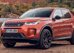 Land Rover Discovery Sport przodem
