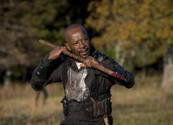 Serial, The Walking Dead, Żywe trupy, Postać Morgan Jones, Lennie James