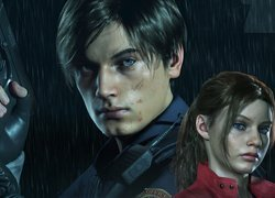 Leon S Kennedy i Claire Redfield