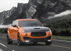Maserati Mansory Levante Orange Metallic