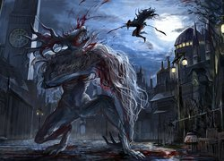 Mostrum z gry Bloodborne