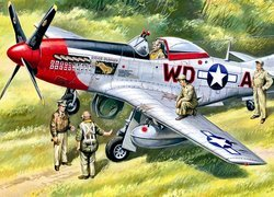 Myśliwiec North American P-51 Mustang