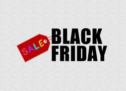 Napis Black Friday