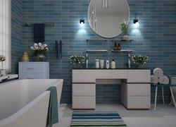 Tapety łazienki