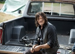 Serial, The Walking Dead, Żywe trupy, Aktor, Norman Reedus