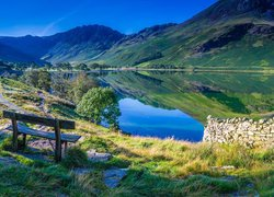 Park Narodowy Lake District na terenie krainy Lake District w Anglii