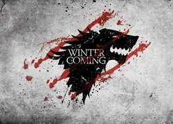 Serial, Gra o tron, Game of Thrones, Wilk, Zima, Winter is coming, Nadchodzi zima