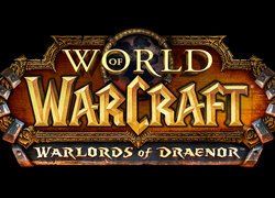 Plakat reklamujący grę World of Warcraft: Warlords of Draenor