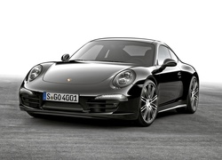 Czarne, Porsche 911 Carrera Black Edition, 2015