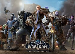 Postacie z gry Warcraft Battle for Azeroth