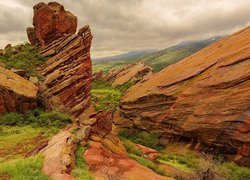 Red Rocks Park w hrabstwie Jefferson w stanie Kolorado