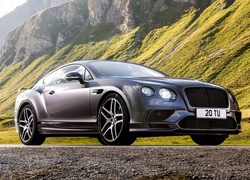 Bentley Continental GT Supersports, 2017, Góry