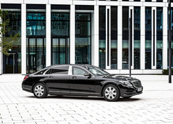 Mercedes-Maybach S600 Guard, 2016