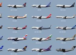 Puzzle Samoloty Plakat Modele