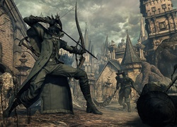 Scena z gry Bloodborne: The Old Hunters